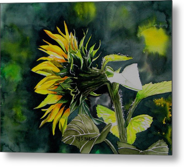 Profile Metal Print by Maria Barry