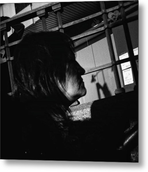 Profile Pic  #profile #people Metal Print
