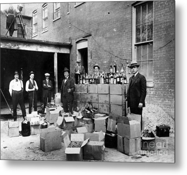 Prohibition, 1922 Metal Print