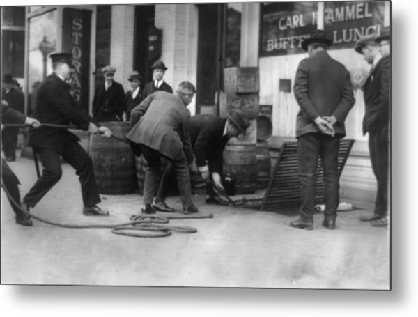 Prohibition, Prohibition Officers Metal Print
