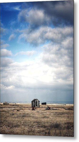 Projekt Desolate The Distance  Metal Print by Stuart Ellesmere