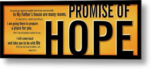 Promise Of Hope Metal Print