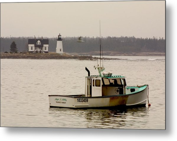 Prospect Harbor Lighthouse Metal Print