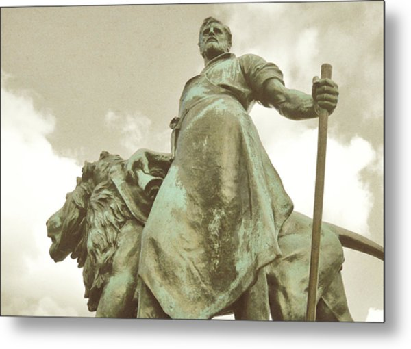Protector Of The Queen Metal Print by JAMART Photography