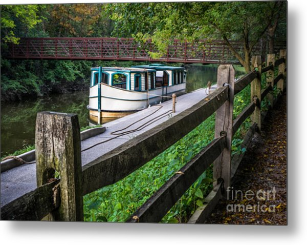 Providence Metropark Erie Canal  Metal Print