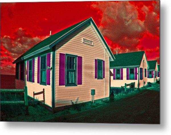 Provincetown Cottages Metal Print