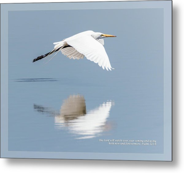 Metal Print featuring the photograph Psalm 121 8 by Dawn Currie