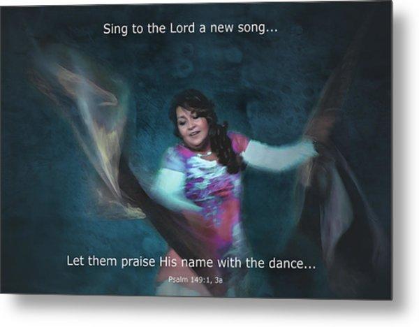 Psalm 149 Metal Print