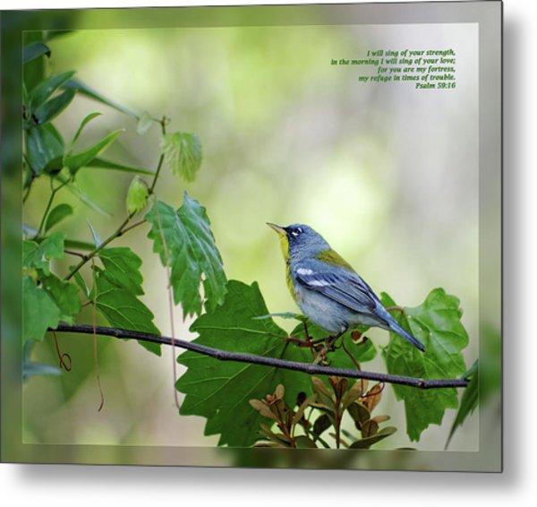 Psalm 59 16 Metal Print