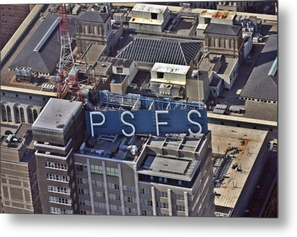 Psfs Building Metal Print by Duncan Pearson