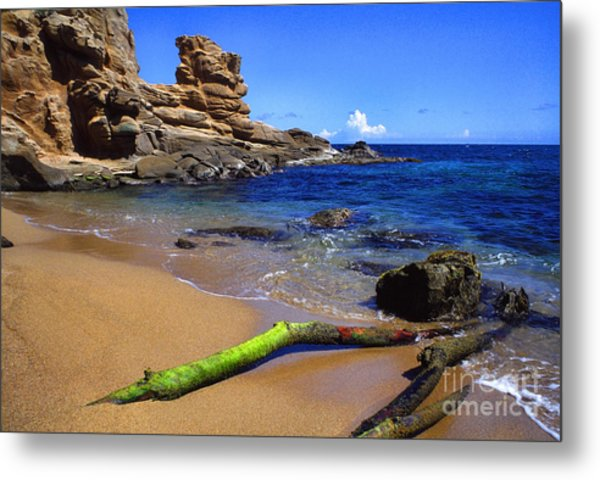 Puerto Rico Toro Point Metal Print