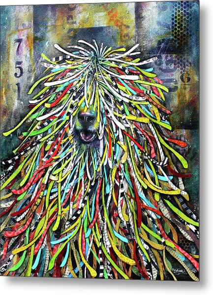 Hungarian Sheepdog Metal Print