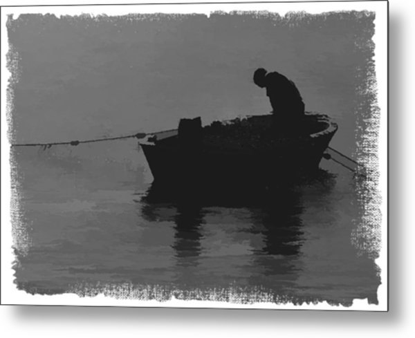 Pulling The Nets 2 Metal Print