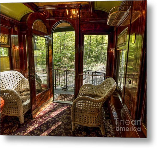 Pullman Porch Metal Print