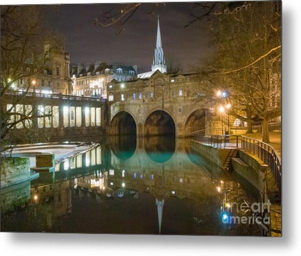 Pulteney Bridge, Bath Metal Print