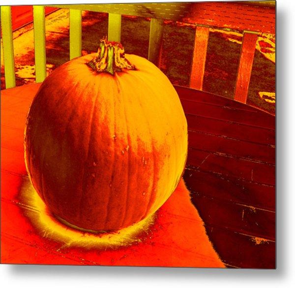Pumpkin #4 Metal Print