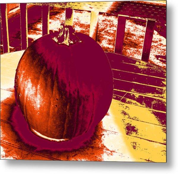 Pumpkin #5 Metal Print