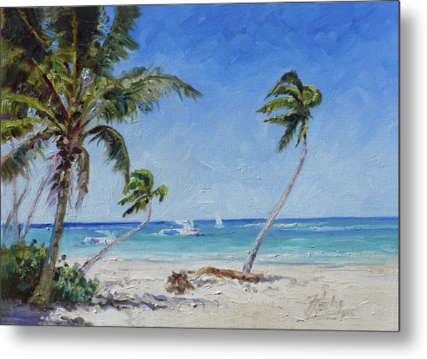 Punta Cana Bavaro - Sea Beach 14 Metal Print