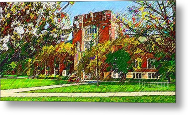 Purdue University Metal Print