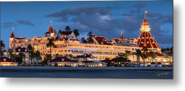 Metal Print featuring the photograph Pure And Simple Pano 48x18.5 by Dan McGeorge