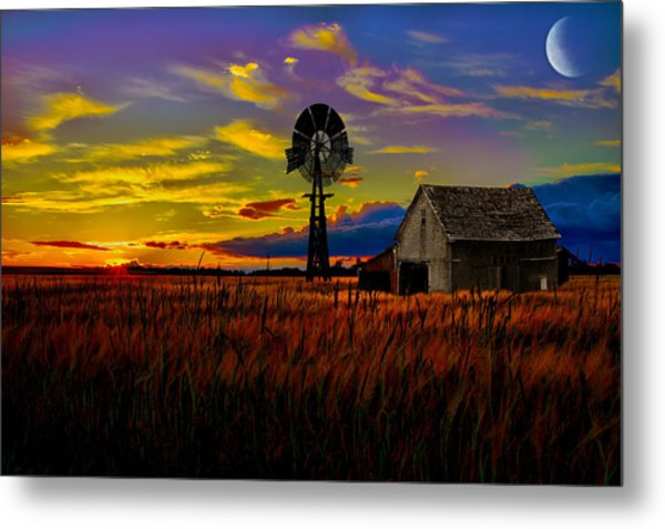 Pure Country Metal Print