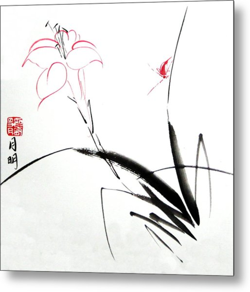 Purity Metal Print by Ming Yeung