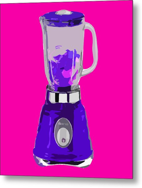 Purple Blender Metal Print by Peter Oconor