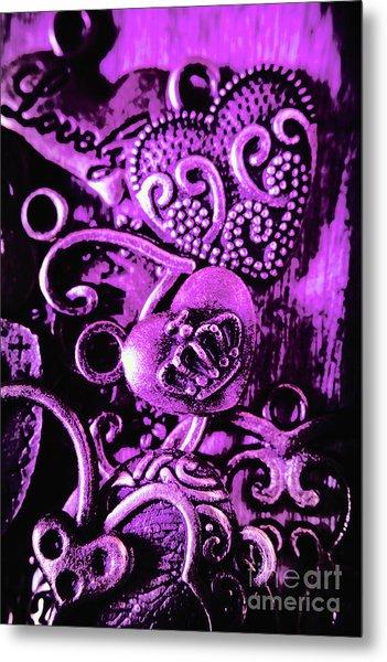 Purple Heart Collection Metal Print
