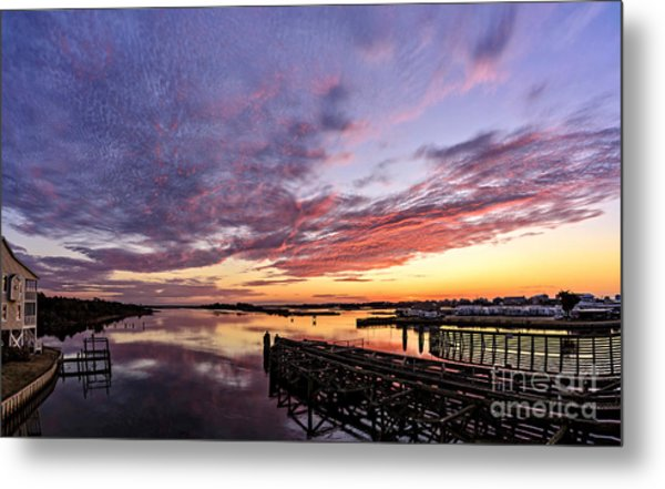 Purple Icw Metal Print