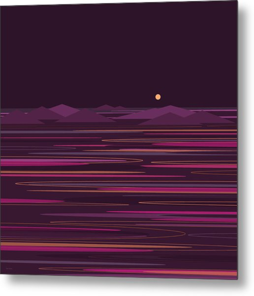 Purple Isles Metal Print