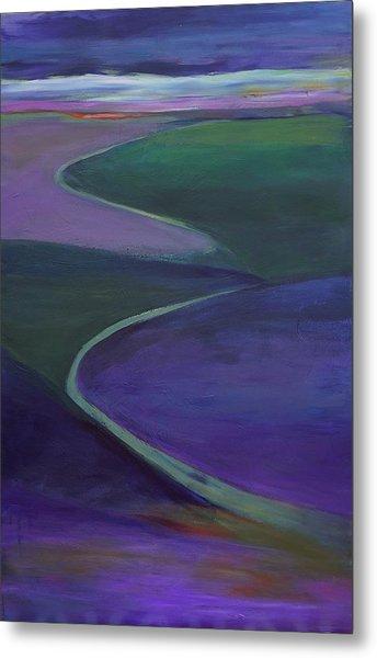 Purple Moor Metal Print