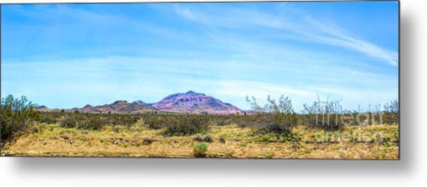 Purple Mountain Panoramic Metal Print