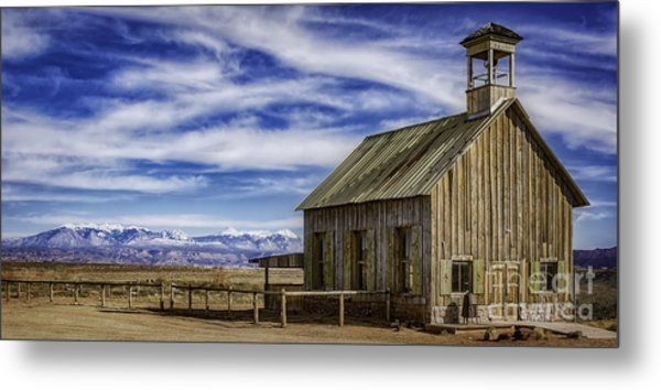 Purple Sage Church Metal Print