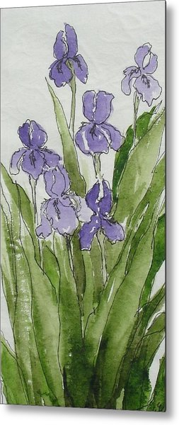 Purple Spring Metal Print