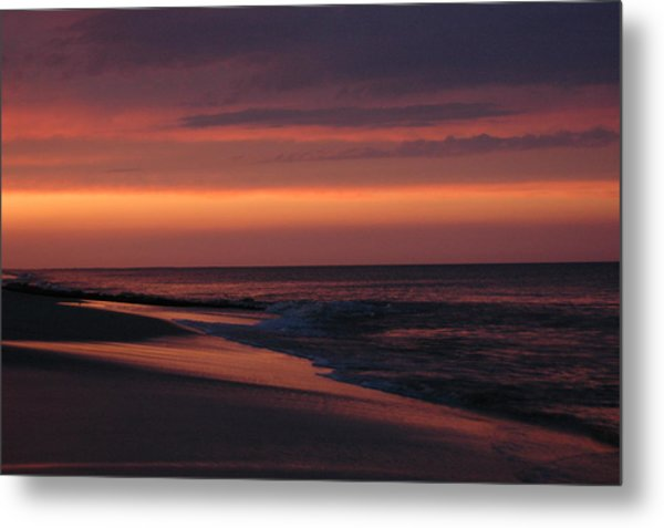 Purple Sunset Metal Print by See Me Beautiful Photography