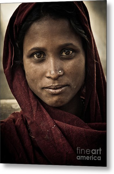 pushkar girl III Metal Print