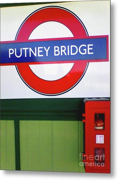 Putney Bridge Metal Print