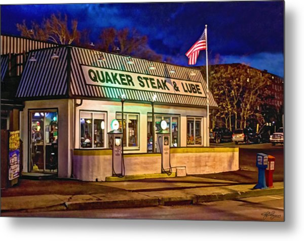 Quaker Steak And Lube Metal Print