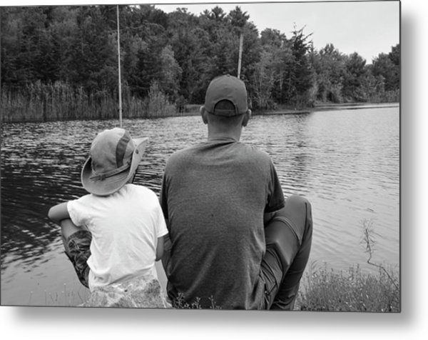 Quality Time... Metal Print