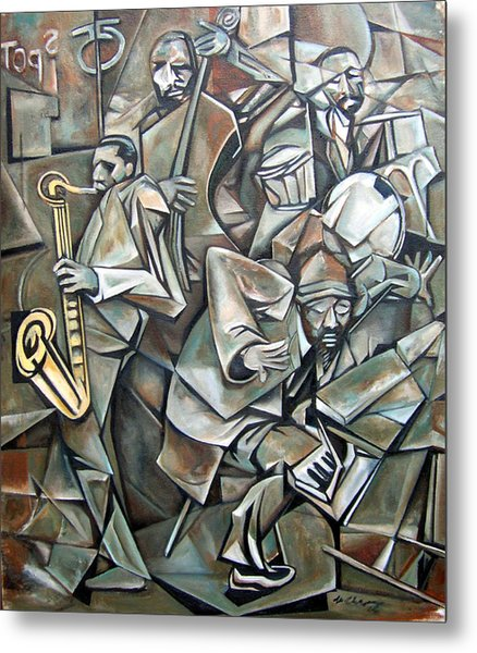 Quartet 1958 Metal Print by Martel Chapman