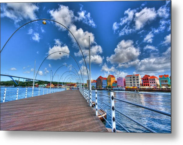 Queen Emma Bridge Metal Print