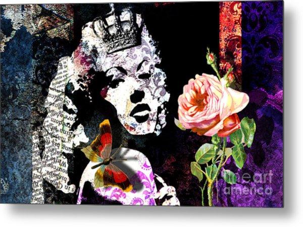 Queen Metal Print by Ramneek Narang