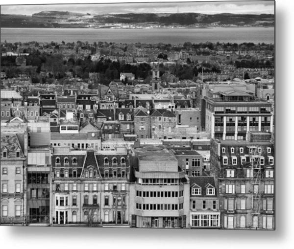 Metal Print featuring the photograph Queen Street To The Forth by Adrian Pym