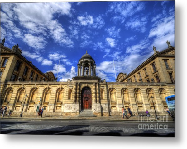 Queens College - Oxford Metal Print