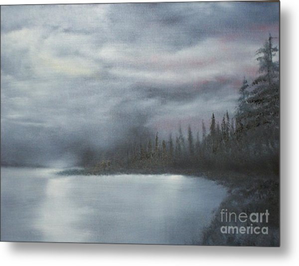 Quiet Cove Metal Print by Shawn Cooper