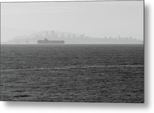 Quiet Giants Metal Print