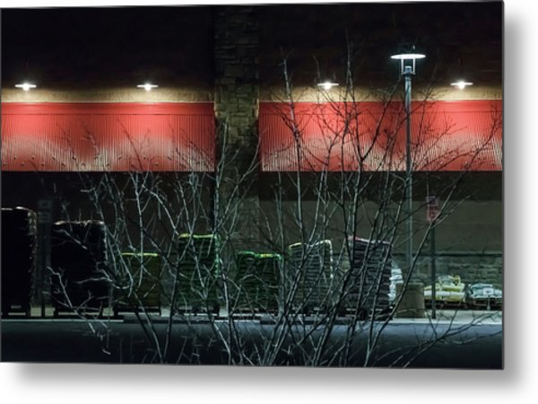 Quiet Night - Metal Print
