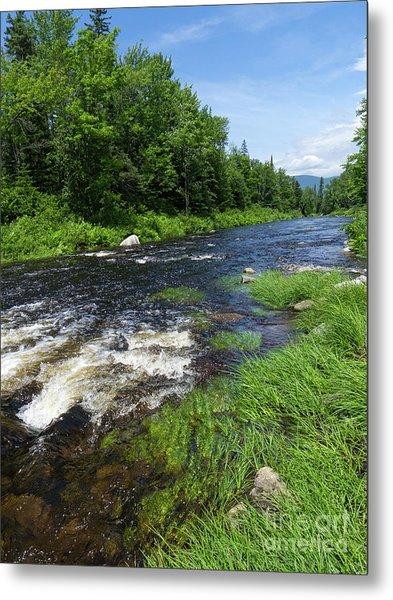 Quill Pond Brook Near Rangeley Maine  -70748 Metal Print