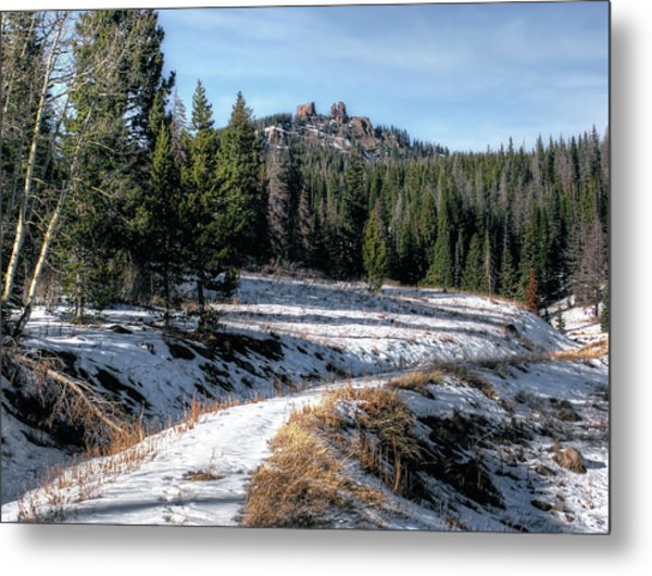 Rabbit Ears Pass Metal Print
