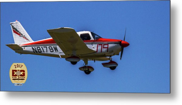 Race 179 Fly By Metal Print